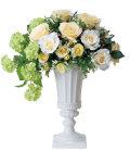 光触媒 光の楽園クリームカップ【アートフラワー 造花 】(ラッピング不可)(458a200)
