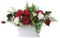 光触媒 光の楽園オーバルローズ【アートフラワー 造花 】(ラッピング不可)(469a60)