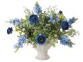 光触媒 光の楽園ツインブルー【アートフラワー 造花 】(ラッピング不可)(471a65)