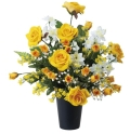 光触媒 光の楽園ゴールドラッシュ【アートフラワー 造花 】(ラッピング不可)(472a60)