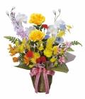 光触媒 光の楽園開運8色フラワー【アートフラワー 造花 】(47a60)