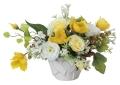 光触媒 光の楽園リトルクリーム【アートフラワー 造花 】(ラッピング不可)(482a40)
