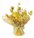 光触媒 光の楽園ゴールデンラップ【アートフラワー 造花 】(483a38)