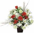 光触媒 光の楽園ロディオローズ【アートフラワー 造花 】(48a50)