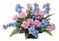 光触媒 光の楽園アレンジフラワー【アートフラワー 造花 】(58a38)