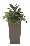 光触媒 光の楽園アート植栽L【インテリアグリーン 人工観葉植物】(600e380)