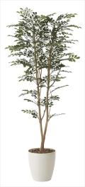 光触媒 光の楽園ゴールデンツリー1.6m【インテリアグリーン 人工観葉植物】(606a310)