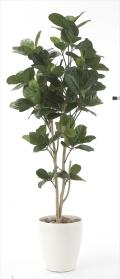 光触媒 光の楽園パンの木1.25m【インテリアグリーン 人工観葉植物】(611e200)