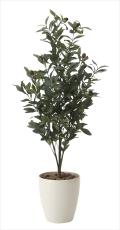 光触媒 光の楽園オリーブ1.3m【インテリアグリーン 人工観葉植物】(618a250)