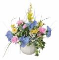 光触媒 光の楽園アレンジフラワー【アートフラワー 造花 】(ラッピング不可)(62a35)