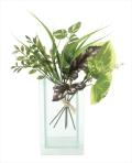 光触媒 光の楽園ミックスグリーン【インテリアグリーン 人工観葉植物】(633a30)