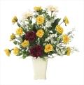 光触媒 光の楽園パレットローズ【アートフラワー 造花 】(※ラッピング不可)(668a120)