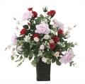光触媒 光の楽園スエーデンローズ【アートフラワー 造花 】(669a100)