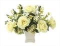 光触媒 光の楽園シンシア【アートフラワー 造花 】(672a80)