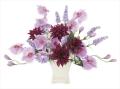 光触媒 光の楽園セシリア【アートフラワー 造花 】(675a60)