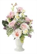 光触媒 光の楽園カンティローズ【アートフラワー 造花 】(※ラッピング不可)(678a50)