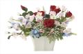 光触媒 光の楽園フレックスローズ【アートフラワー 造花 】(※ラッピング不可)(682a50)