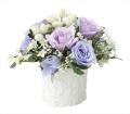 光触媒 光の楽園スイートムーン【アートフラワー 造花 】(※ラッピング不可)(693a35)
