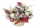 光触媒 光の楽園フレアローズ【アートフラワー 造花 】(695a35)