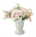 光触媒 光の楽園パールローズ【アートフラワー 造花 】(696a38)
