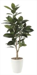 光触媒 光の楽園ゴムの木1.25m【インテリアグリーン 人工観葉植物】(710e200)