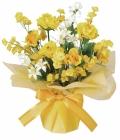光触媒 光の楽園ミルキーハニー【アートフラワー 造花 】(73a25)