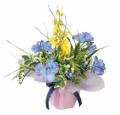 光触媒 光の楽園アレンジフラワー【アートフラワー 造花 】(74a25)