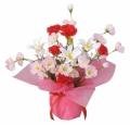 光触媒 光の楽園アレンジフラワー【アートフラワー 造花 】(77a20)