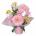 光触媒 光の楽園アレンジフラワー ガーベラ【アートフラワー 造花 】(78a20)