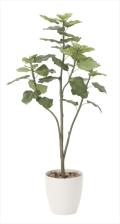 <2018新作>光触媒 光の楽園ウンベラータツリー1.5m【インテリアグリーン 人工観葉植物】(806a300)