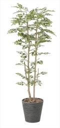 <2018新作>光触媒 光の楽園ゴールデンツリー1.6m【インテリアグリーン 人工観葉植物】(811a350)