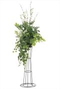 光触媒 光の楽園ミックスグリーンスタンド1.45m【インテリアグリーン 人工観葉植物】(906a350)