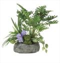 光触媒 光の楽園ミックスクッカバラ【インテリアグリーン 人工観葉植物】(913a75)