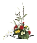 光触媒 光の楽園華やか【アートフラワー 造花 】(923a80)