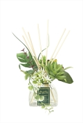 光の楽園セダム【アートフラワー 造花 】(934a25)