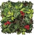 光触媒 光の楽園壁面緑化ミックス【インテリアグリーン 人工観葉植物】(947a1200)