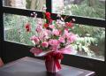 光触媒 光の楽園クリスタルカーネーション【アートフラワー 造花 】(acn014)