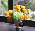 光触媒 光の楽園サンクスベアイエロー【アートフラワー 造花 】(acn016)