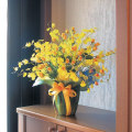 光触媒 光の楽園ゴールドストライク【アートフラワー 造花 】(acn039)