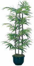 光触媒 光の楽園黒竹1.3m【インテリアグリーン 人工観葉植物】(acn071)