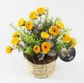 光触媒 光の楽園アレンジフラワー【アートフラワー 造花 】(acn085)