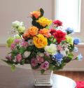 光触媒 光の楽園開運8色 アレンジフラワー【アートフラワー 造花 】(acn156)