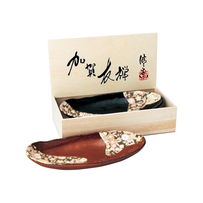 加賀友禅 組盛鉢  No.28