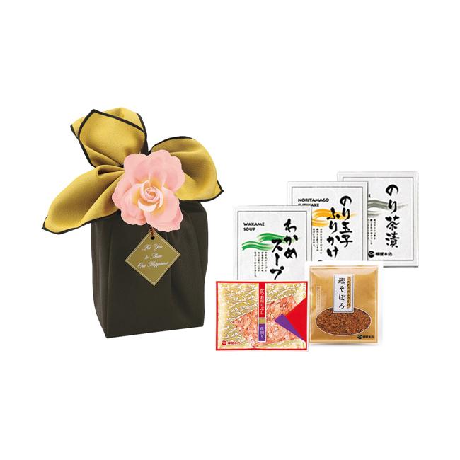 柳屋本店 花音かつお削りぶし詰合せ  No.10 (黒×からし)