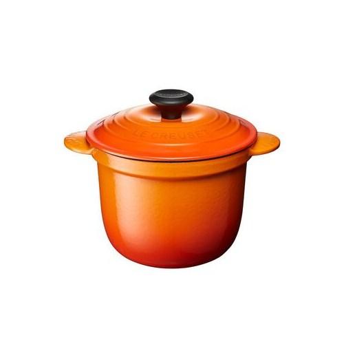【送料無料】ル・クルーゼ LE CREUSET ココットエブリイ18・オレンジ(lec-024147302032)