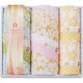 【送料無料】しまなみ匠の彩 白桜 フェイスタオル2P・ウォッシュタオル2P(W44-06)