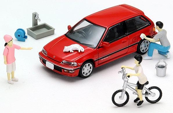 <予約> [TOMICA LIMITED VINTAGE NEO] 1/64 ジオコレ64 #カースナップ02a 洗車