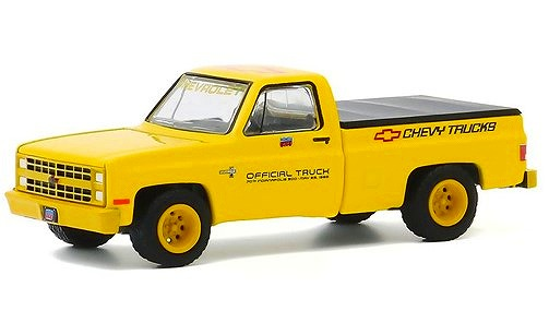 GREENLIGHT 1/64 1986 Chevy Silverado 70th Annual Indianapolis 500 Mile Race Official Truck