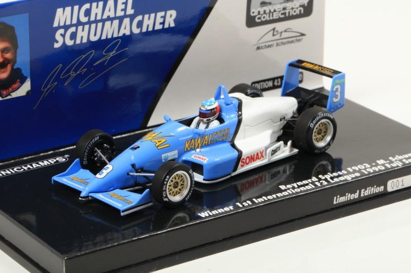MINICHAMPS 1/43 レイナード スピース F903 M・シューマッハ インターナチョナル F3リーグ 富士スピードウェイ 1990 初代ウィナー