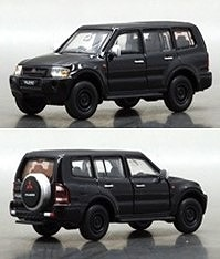 BM CREATIONS 1/64 三菱 パジェロ (3代目) ブラック (RHD)